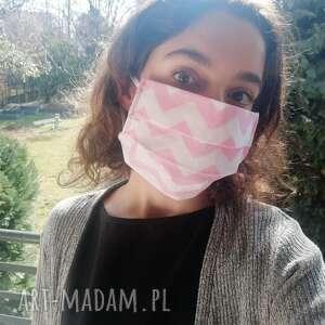 tessita maseczka, maska dwuwarstwowa ochronna do wielokrotnego użytku, motyw
