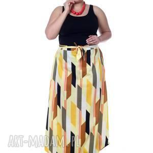 Wyjątkowy kombinezon, maxi spódnica, 100% bawełna, designerski,