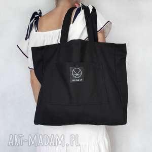 Torba Slow na ramię, torba-na-ramie, torba-prosta, torba-pojemna, torba-ekologiczna