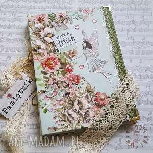 Notes pamiętnik make a wish scrapbooking notesy damusia notes