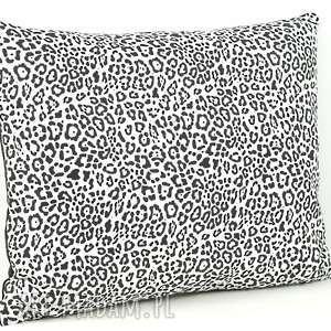 poduszki poszewka z motywem biało-czarnym na poduszkę, poduszka, dekoracja, prezent