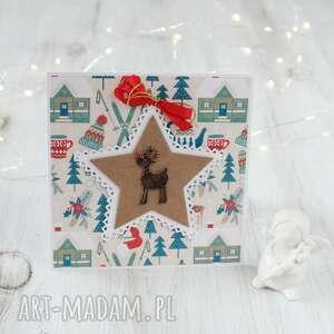 Pomysł na święta upominki? Kartka świąteczna na boże narodzenie