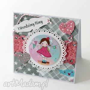 kartka w pudełku - kartka, urodziny, roczek