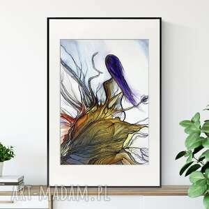 Obraz ręcznie malowany 50x70 cm, abstrakcja kobieta, 2511300 art