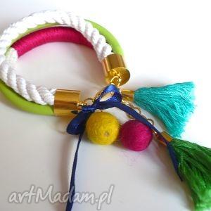 bransoletki viva la mexico, zawieszki, sznurek, kolorowa, zabawa, hel, pod choinkę