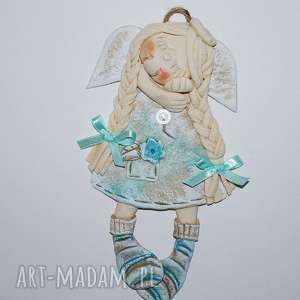 dla dziecka śpię czy marzę aniołek, warkocze, paski, skarpety