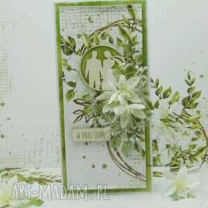 kartka ślubna z młodą parą vol 3 w pudełku, ślub, ślubna, na ślub