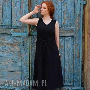 luźna romantyczna sukienka, bawełniana, suknia, letnia