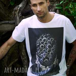 T-shirt z plakatem oni bluzki manifesto art t shirt, bluzka