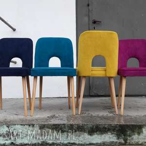 krzesło muszelka, krzesło, vintage, lata60, lata70