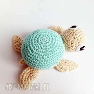Żółwik Leon - ręcznie wykonane