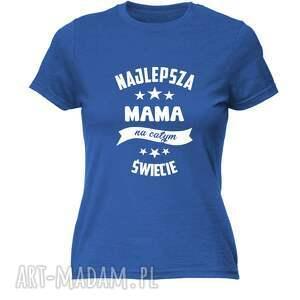koszulka z nadrukiem dla mamy, prezent najlepsza mama, dzień matki