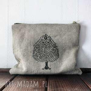 Prezent Organizer kosmetyczka z wzorem drzewa bodhi, drzewo, prezent