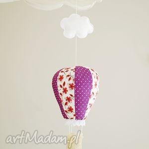 Balon - ozdoba pokoju dziecka, dekoracja, ozdoba, powieszenia, dziecko, balon, lampa