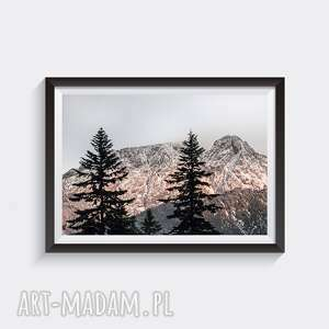 giewont - autorska fotografia barwna 30x45, góry, tatry, widok, krajobraz