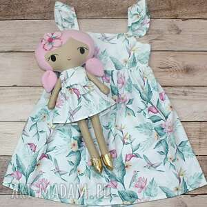 lalka przytulanka aniela, 45 cm, lala, lalkaisukienka, szmacianka, prezent