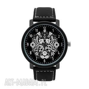 zegarki zegarek męski z grafiką kujawy, kujawski, lokalny, folklor, ludowy
