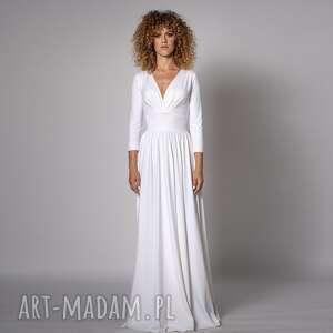 Megan - klasyczna suknia sukienki milita nikonorov ślubna