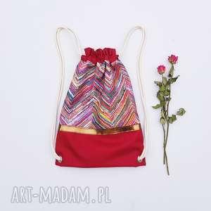plecak kolorowe etno - ,plecak,worek,etno,boho,kolorowy,
