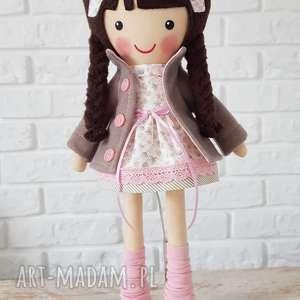 świąteczny prezent, malowana lala patrycja, lalka, przytulanka, niespodzianka