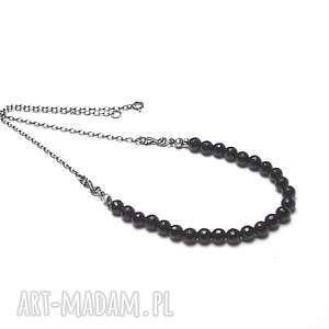 handmade naszyjniki black - naszyjnik