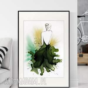 obraz, abstrakcja, kobieta, 2988940, obraz ręcznie malowany, do salonu
