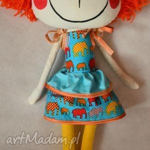 anolina anolinka - ręcznie szyta lalka z duszą - laleczka, zabawka