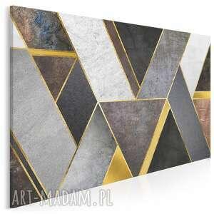 vaku dsgn obraz na płótnie - geometryczny kształty art-deco 120x80 cm 97801