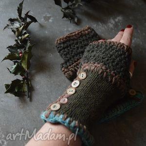 hand-made rękawiczki mitenki
