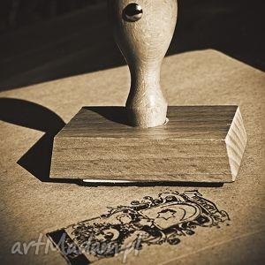 unikalny exlibris w postaci pieczęci, exlibris, stempel, prezent, ślub