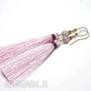 boho /l. Pink/ - kolczyki