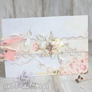 "Księga gości ""różany ogród"" księgi lu luu craft"