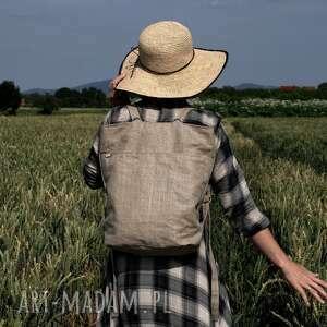 rowelove pocket len, vegan, plecak, natura, slow