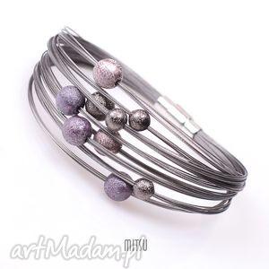 ręcznie wykonane industrial violet bold