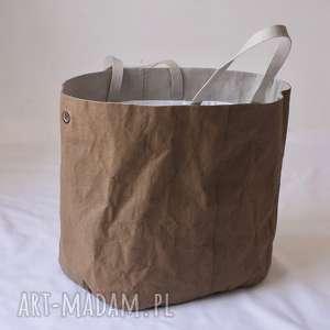 hand-made na ramię wegańska torba xxxl