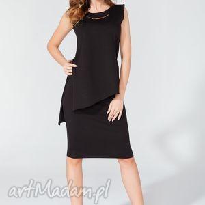 spódnice spódnica ołówkowa t117 kolor czarny - tessita, elegancka, midi