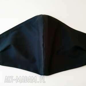 maseczki maska bawełniana ochronna 5 szt granat, maseczka, granatowa