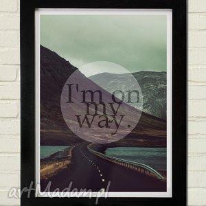 MY WAY Plakat 30x40, plakat
