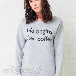 wyjątkowy prezent, coffee bluza oversize