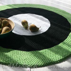 dywan ze sznurka bawełnianego - handmade, dywan, sznurek