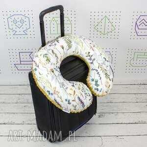handmade poduszka podróżna spring field