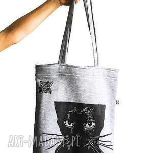 handmade na ramię catty bag
