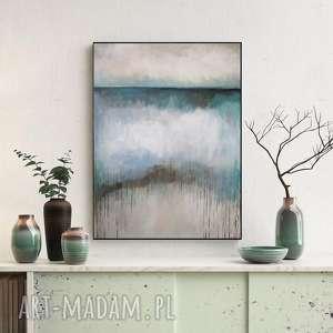 ABSTRAKCJA - obraz akrylowy formatu 50/70 cm, obraz, akryl, abstrakcja