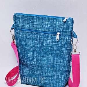 torebka listonoszka wodoodporna, torba na ramię, mała przez ramię szkic
