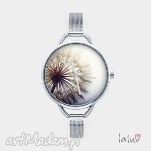 Zegarek z grafiką DMUCHAWIEC, mlecz, wiosna, kwiat, kwiaty, słońce, wiatr
