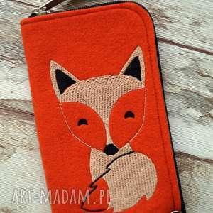 filcowe etui na telefon - lisek, smartfon, pokrowiec, futerał, fox, lis, prezent
