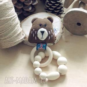 handmade zabawki drewniana zabawka gryzak grzechotak