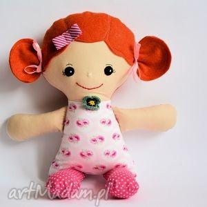 cukierkowa lala - małgosia 40 cm, lalka, cukierkowa, szmacianka, romantyczna