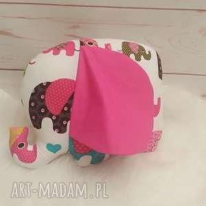 słonik z szeleszczącymi uszami - przytulanka szeleszczące zabawka