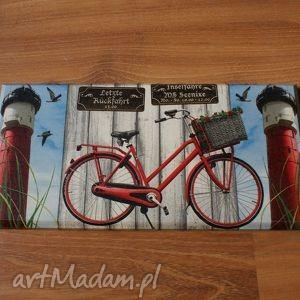 obrazek decoupage - quot rowerem przez świat quot - rower